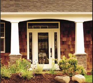 Turncraft Craftsman Tapered Columns Used In Exterior