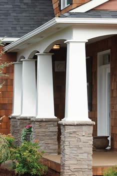 Mission style columns for Craftsman columns