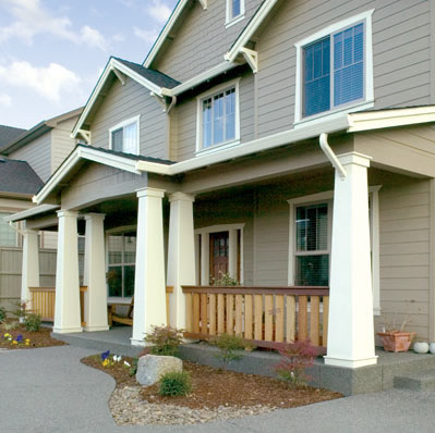 Polyclic Tapered Craftsman Columns