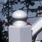See finials and newel caps in our photo gallery